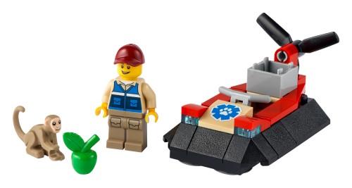 LEGO City 30570 Luftkissenboot für Tierrettungen | ©LEGO Gruppe