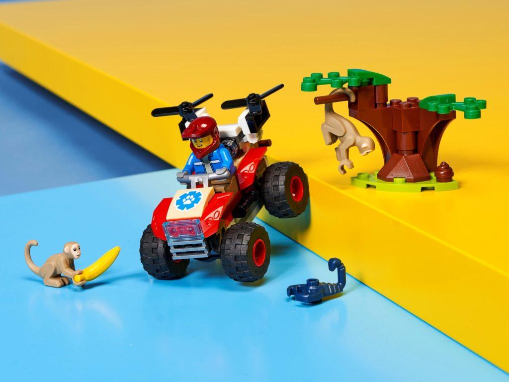 LEGO City 60300 Tierrettungs-Quad | ©LEGO Gruppe