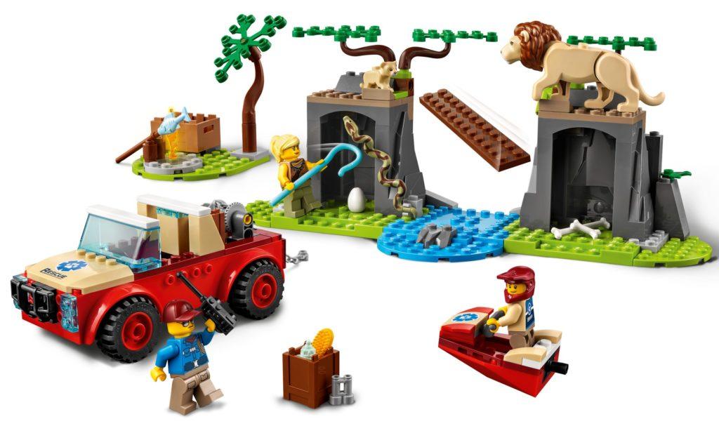 LEGO City 60301 Tierrettungs-Geländewagen | ©LEGO Gruppe