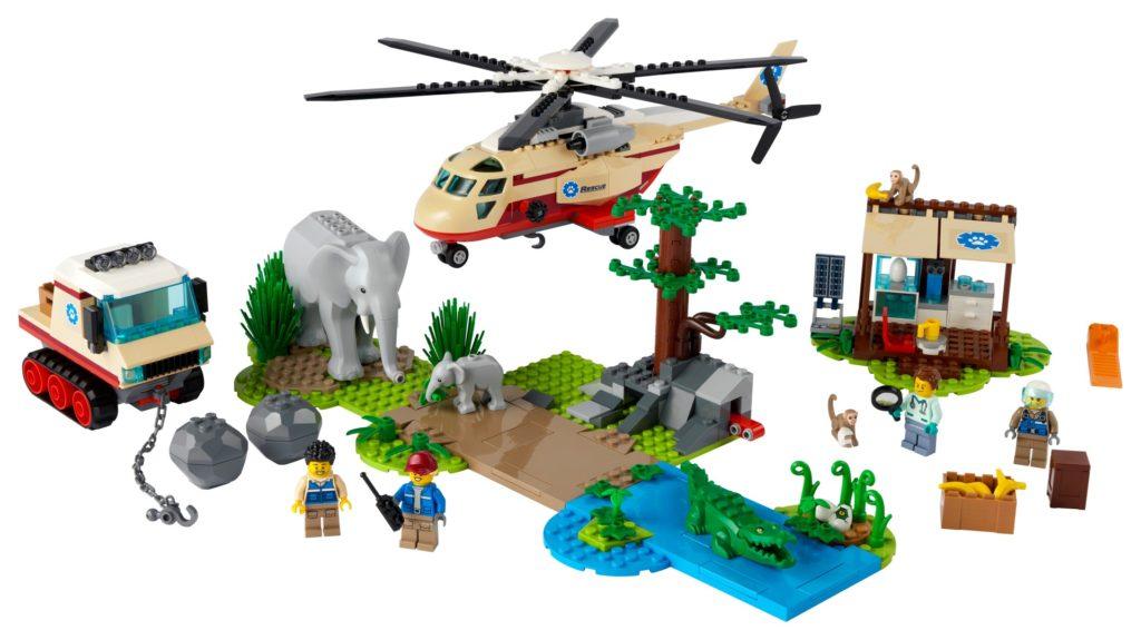 LEGO City 60302 Tierrettungseinsatz | ©LEGO Gruppe