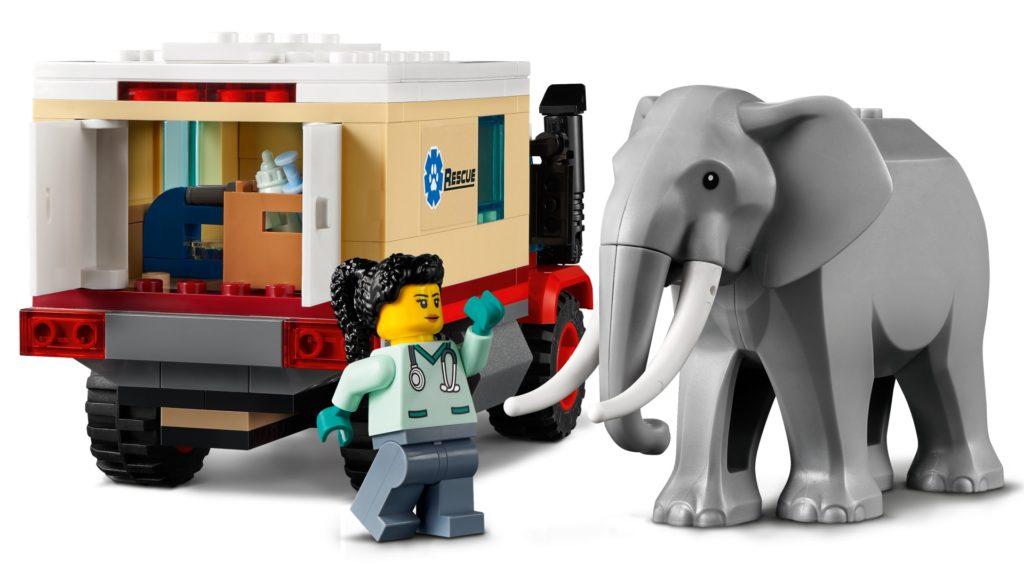 LEGO City 60307 Tierrettungscamp | ©LEGO Gruppe