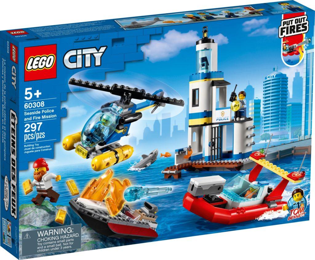 LEGO City 60308 Polizei und Feuerwehr im Küsteneinsatz | ©LEGO Gruppe