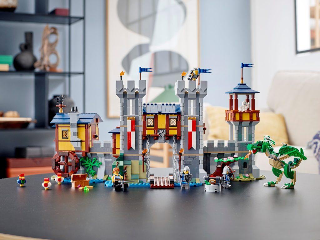 LEGO Creator 3-in-1 31120 Mittelalterliche Burg | ©LEGO Gruppe