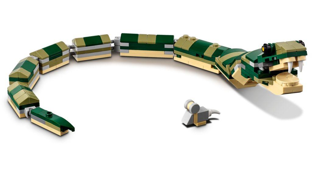 LEGO Creator 3-in-1 31121 Krokodil | ©LEGO Gruppe