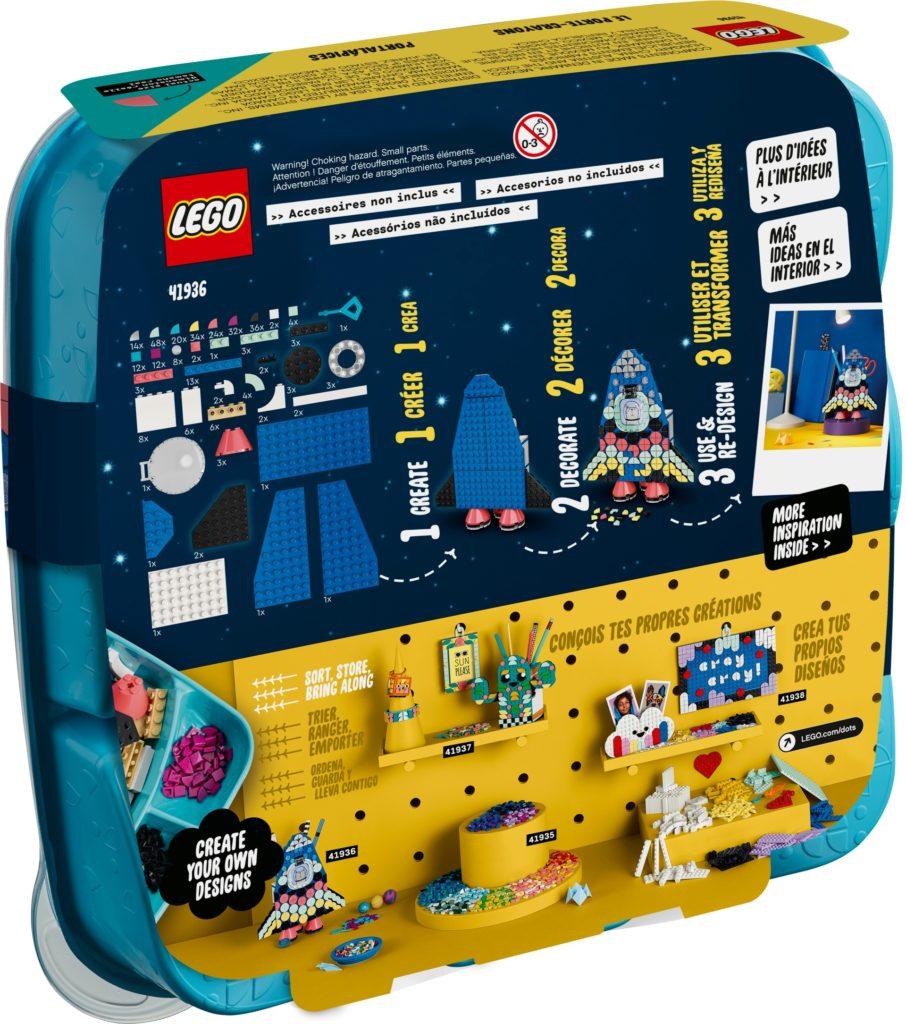 LEGO DOTS 41936 Raketen Stiftehalter | ©LEGO Gruppe