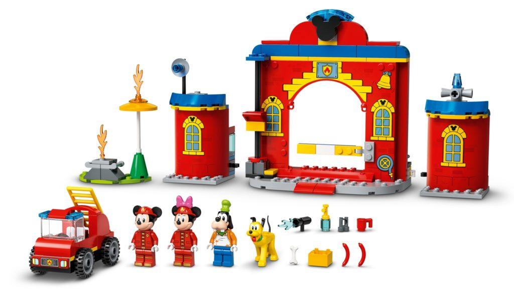 LEGO DUPLO 10776 Mickys Feuerwehrstation und Feuerwehrauto | ©LEGO Gruppe