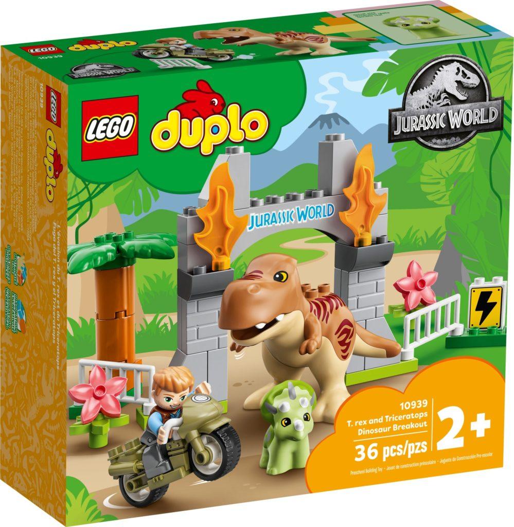 LEGO DUPLO 10939 Ausbruch des T. rex und Triceratops | ©LEGO Gruppe