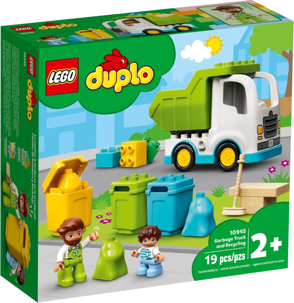 LEGO DUPLO 10945 Müllabfuhr und Wertstoffhof | ©LEGO Gruppe