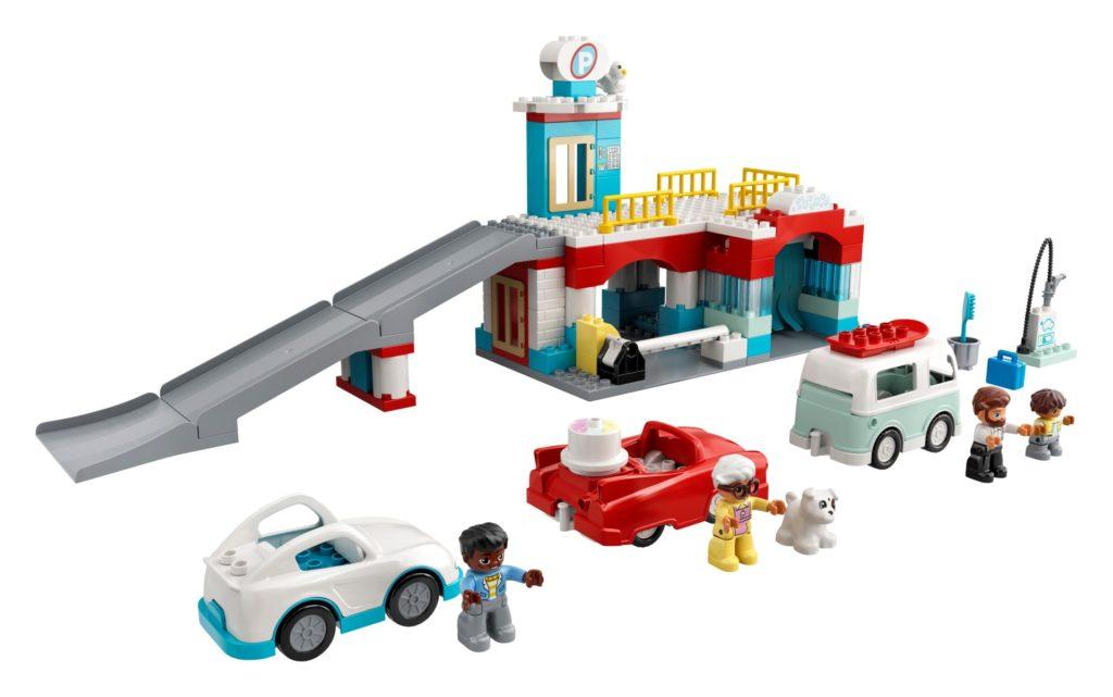 LEGO DUPLO 10948 Parkhaus mit Autowaschanlage | ©LEGO Gruppe