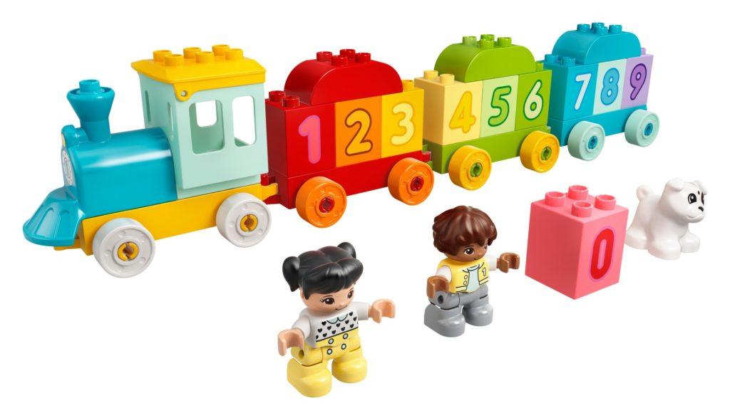 LEGO DUPLO 10954 Zahlenzug – Zählen lernen | ©LEGO Gruppe