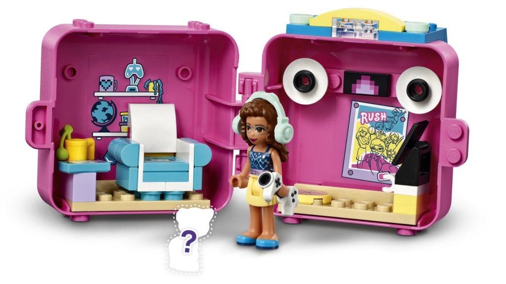 LEGO Friends 41667 Olivias Spiele-Würfel | ©LEGO Gruppe