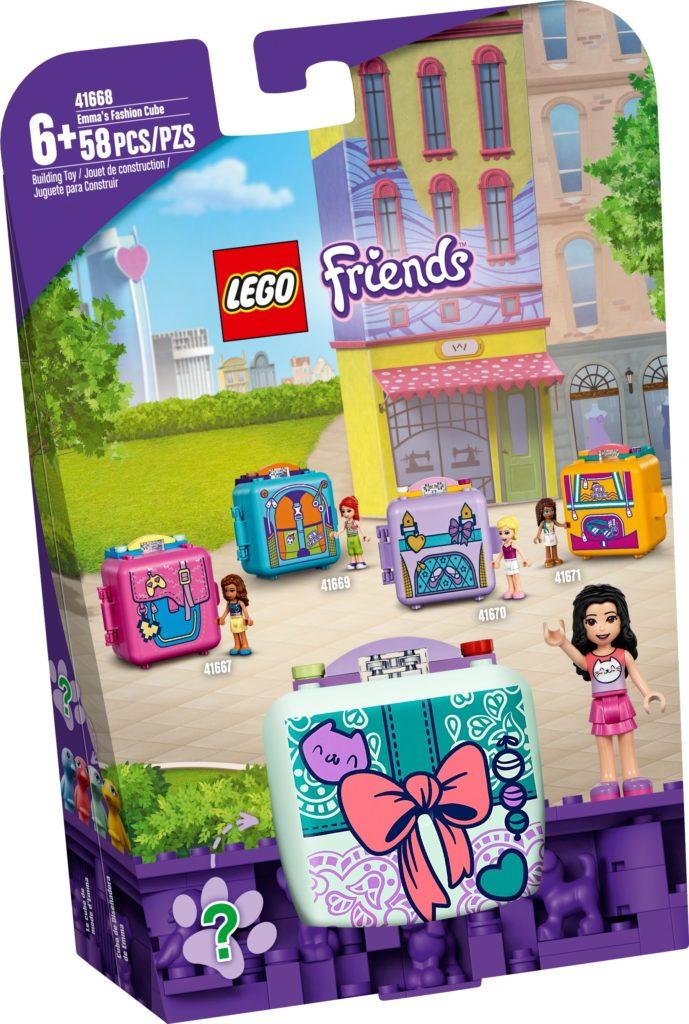 LEGO Friends 41668 Emmas Mode-Würfel | ©LEGO Gruppe