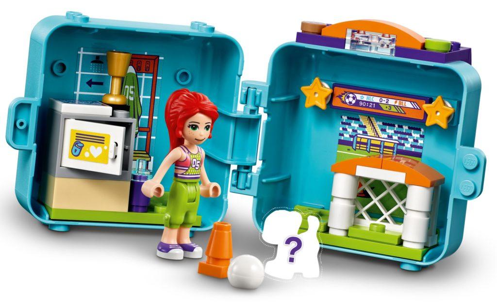 LEGO Friends 41669 Mias Fußball-Würfel | ©LEGO Gruppe