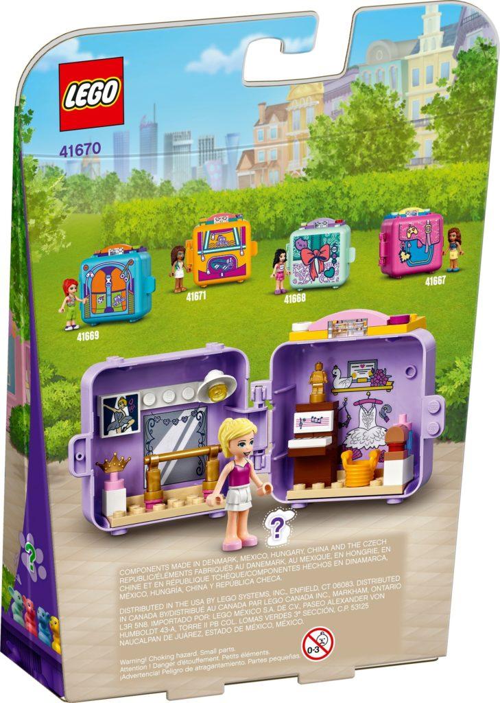 LEGO Friends 41670 Stephanies Ballett-Würfel | ©LEGO Gruppe