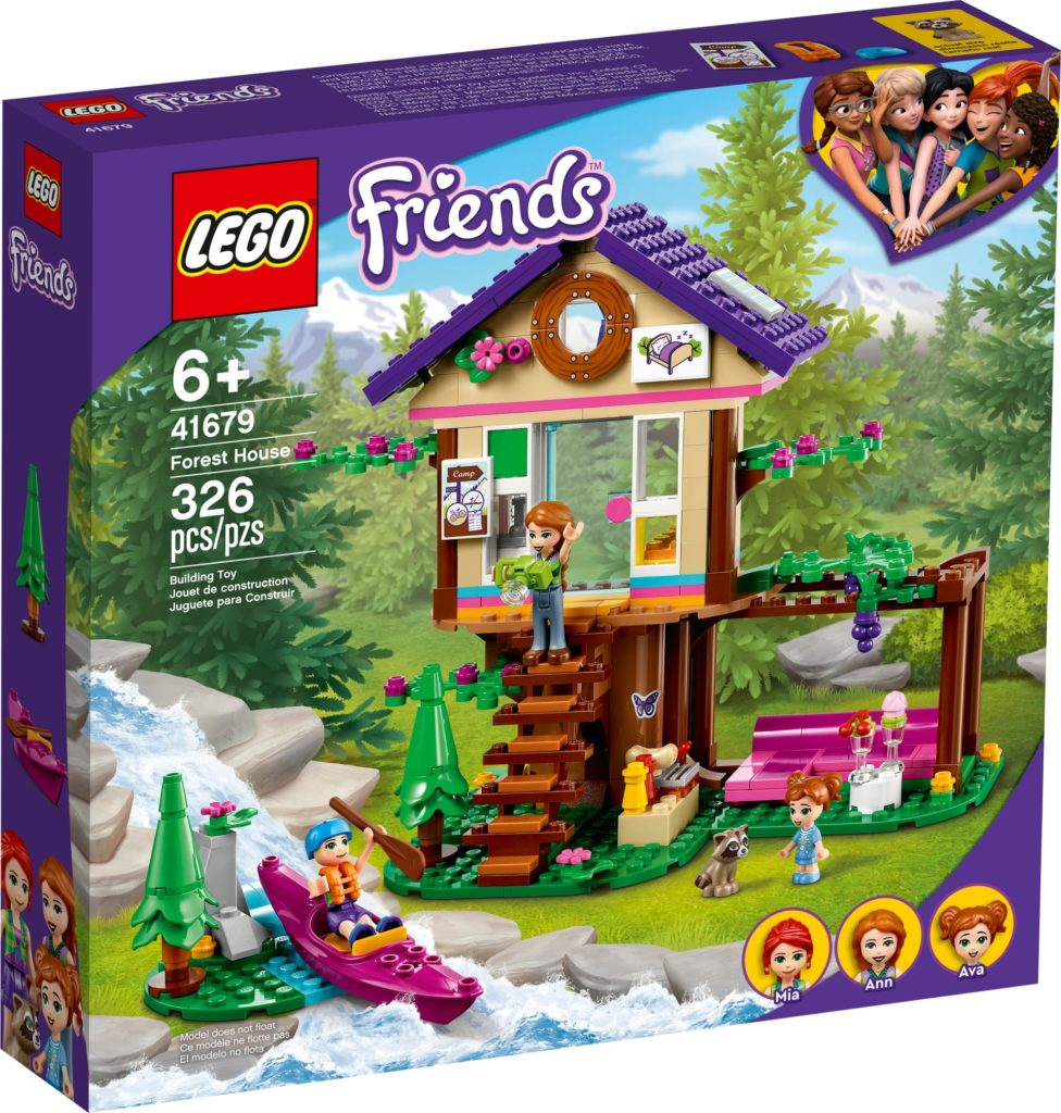 LEGO Friends 41679 Baumhaus im Wald | ©LEGO Gruppe