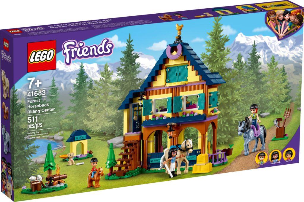 LEGO Friends 41683 Reiterhof im Wald | ©LEGO Gruppe