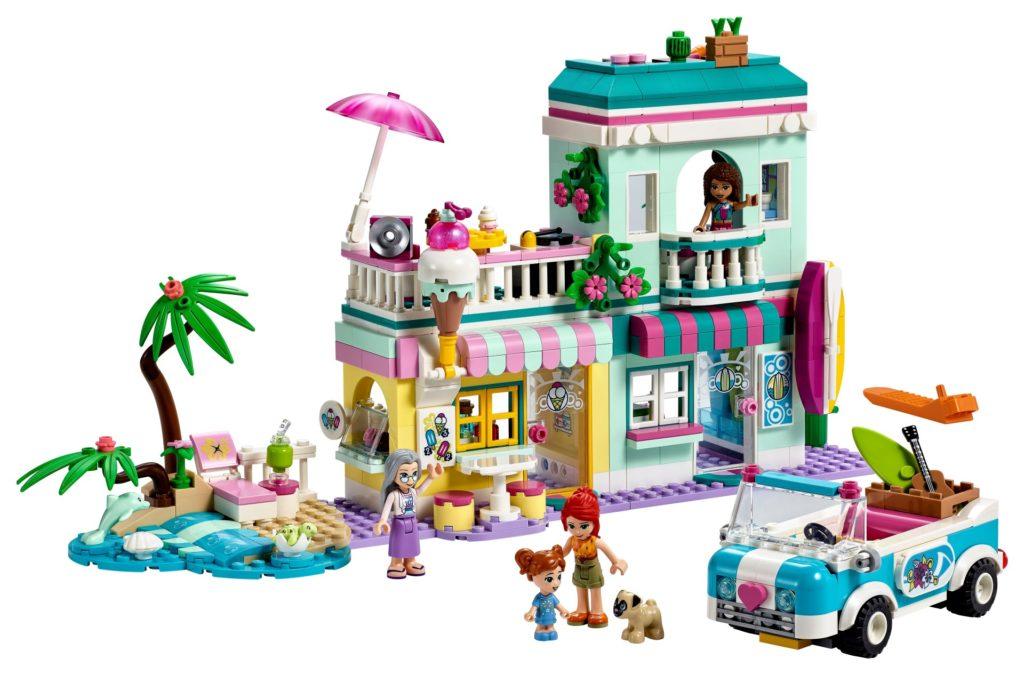LEGO Friends 41693 Surfer-Strandhaus | ©LEGO Gruppe