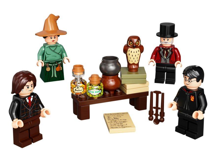 LEGO Harry Potter 40500 Minifiguren aus der Zauberwelt – Zubehörset | ©LEGO Gruppe