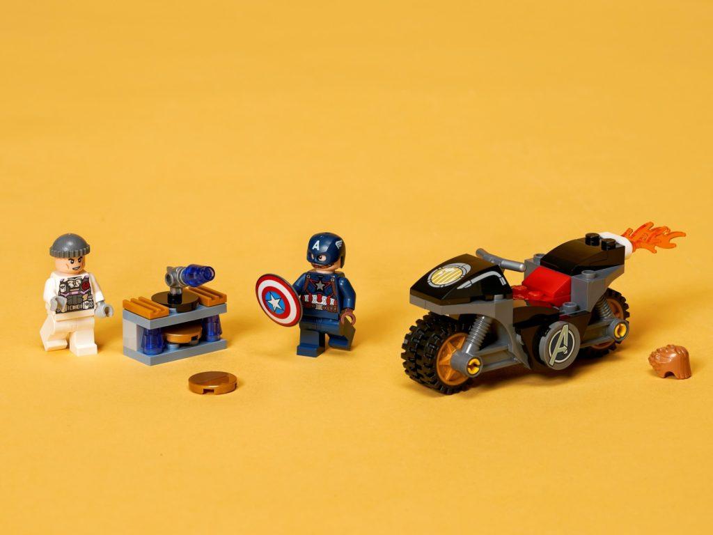 LEGO Marvel 76189 Duell zwischen Captain America und Hydra | ©LEGO Gruppe