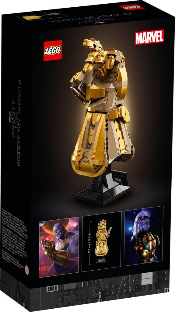 LEGO Marvel 76191 Infinity Handschuh | ©LEGO Gruppe