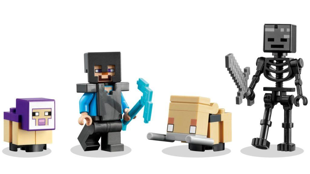 LEGO Minecraft 21172 Das zerstörte Portal   ©LEGO Gruppe
