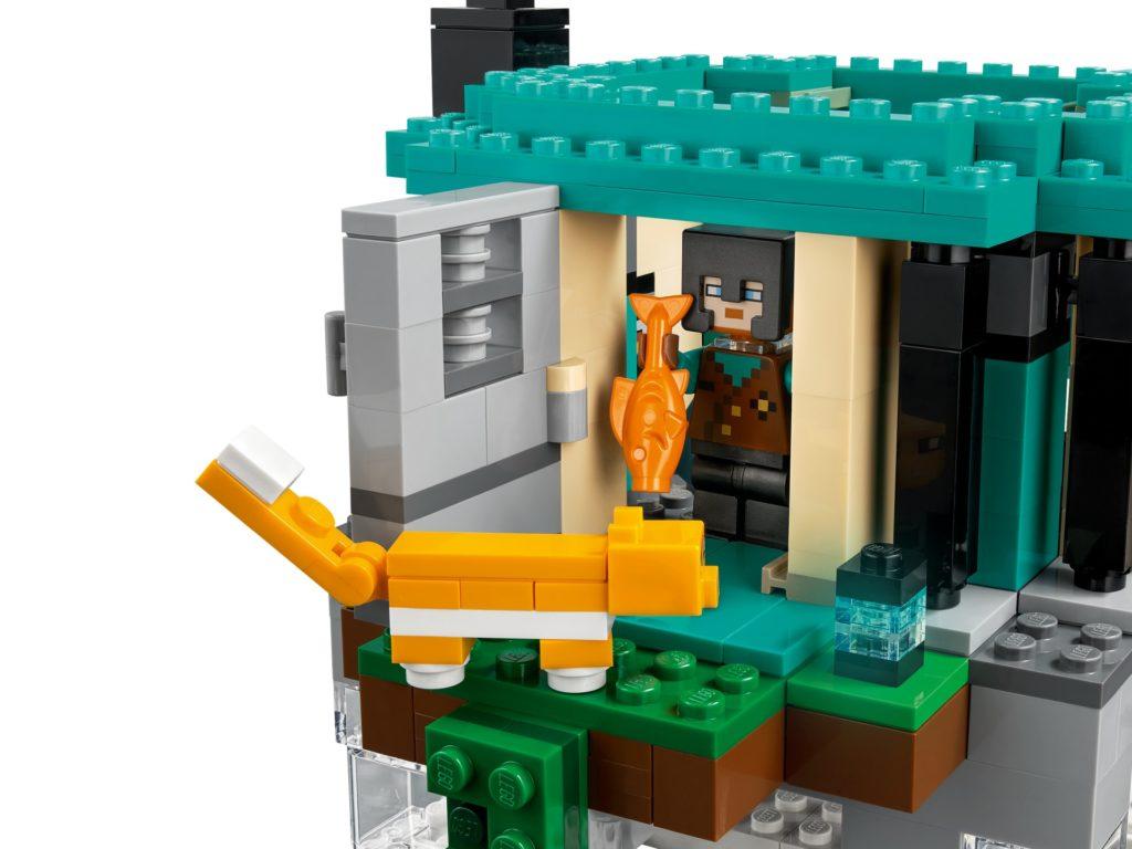 LEGO Minecraft 21173 Der Himmelsturm   ©LEGO Gruppe