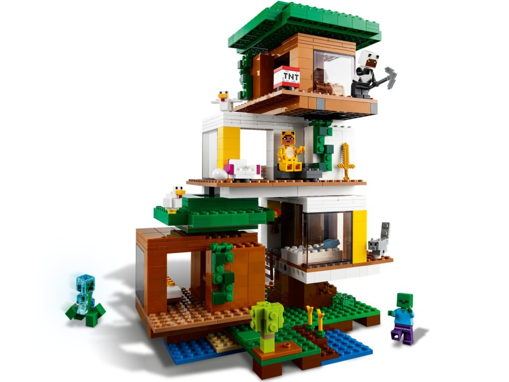 LEGO Minecraft 21174 Das moderne Baumhaus   ©LEGO Gruppe