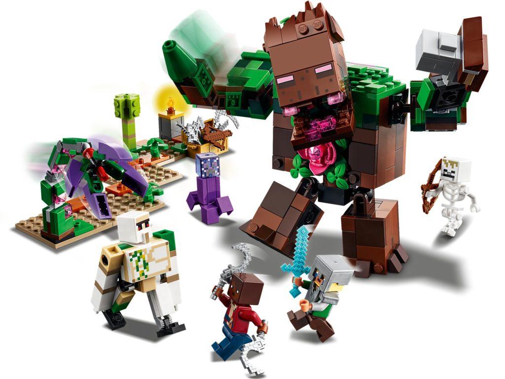 LEGO Minecraft 21176 Die Dschungel Ungeheuer   ©LEGO Gruppe