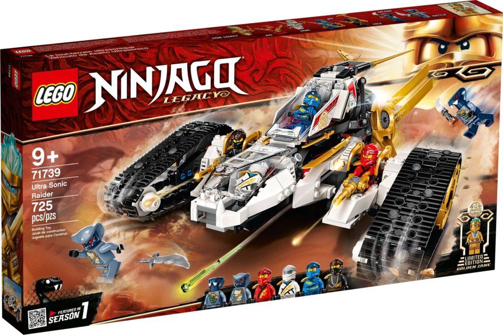 LEGO Ninjago 71739 Ultraschall-Raider | ©LEGO Gruppe