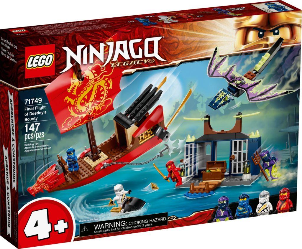 LEGO Ninjago 71749 Flug mit dem Ninja-Flugsegler | ©LEGO Gruppe