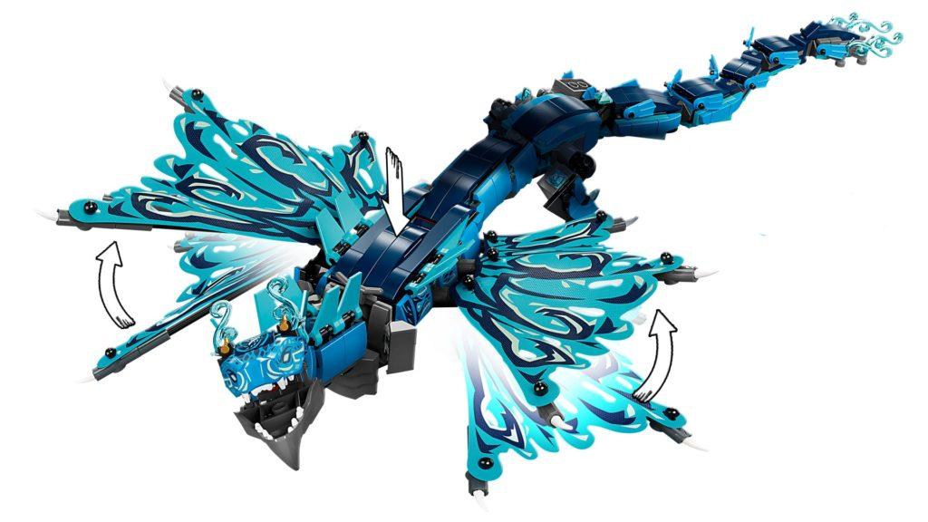 LEGO Ninjago 71754 Wasserdrache | ©LEGO Gruppe