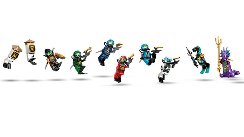LEGO Ninjago 71756 Wassersegler | ©LEGO Gruppe