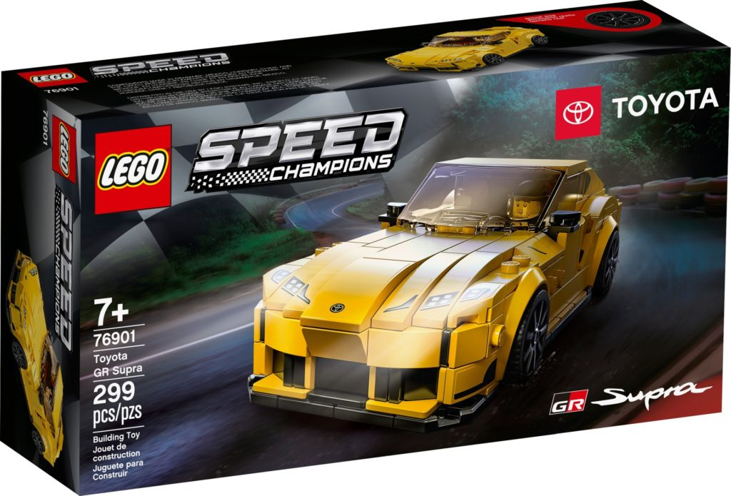 LEGO Speed Champions 76901 Toyota GR Supra | ©LEGO Gruppe