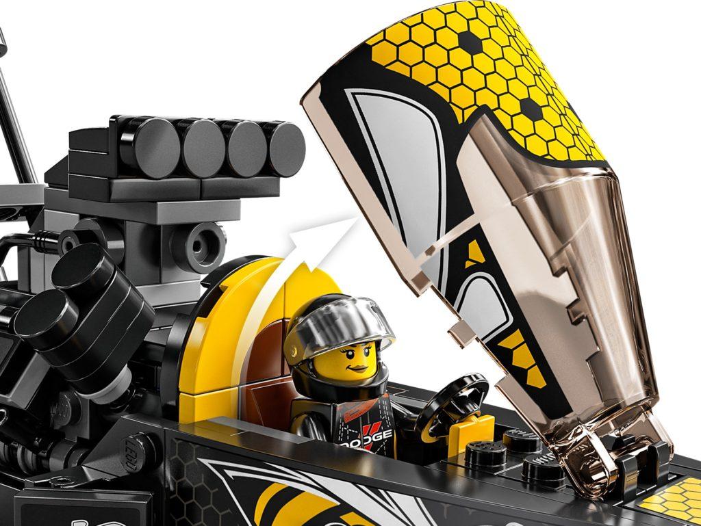 LEGO Speed Champions 76904 Mopar Dodge//SRT Top Fuel Dragster and 1970 Dodge Challenger T/A | ©LEGO Gruppe