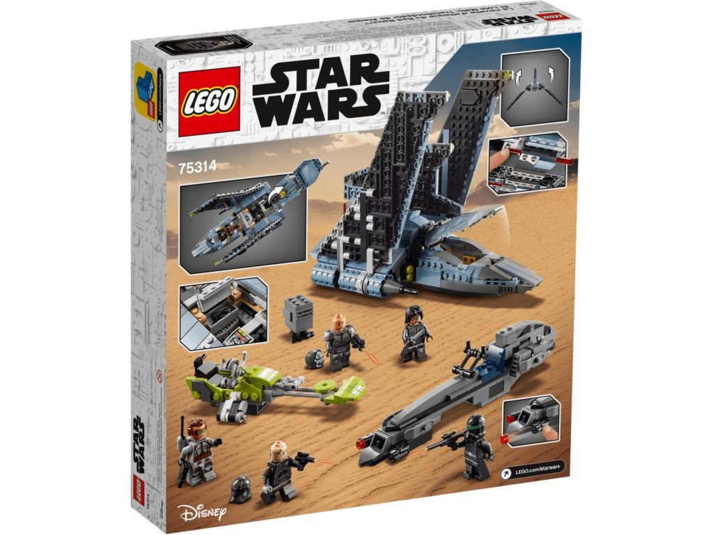 LEGO Star Wars 75314 The Bad Batch Attack Shuttle | ©LEGO Gruppe