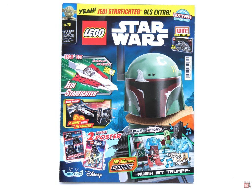 LEGO® Star Wars™ Magazin Nr. 72 mit Jedi Starfighter - Cover | ©Brickzeit