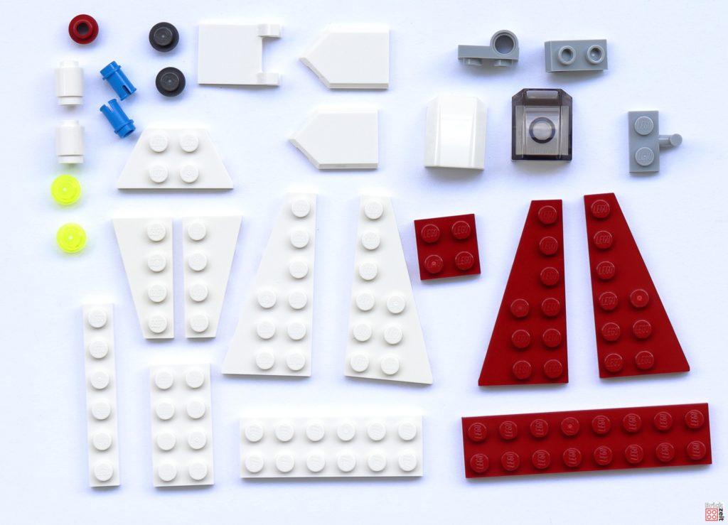 LEGO® Star Wars™ Jedi Starfighter Polybag (Item-Nr. 912172) - Teile | ©Brickzeit