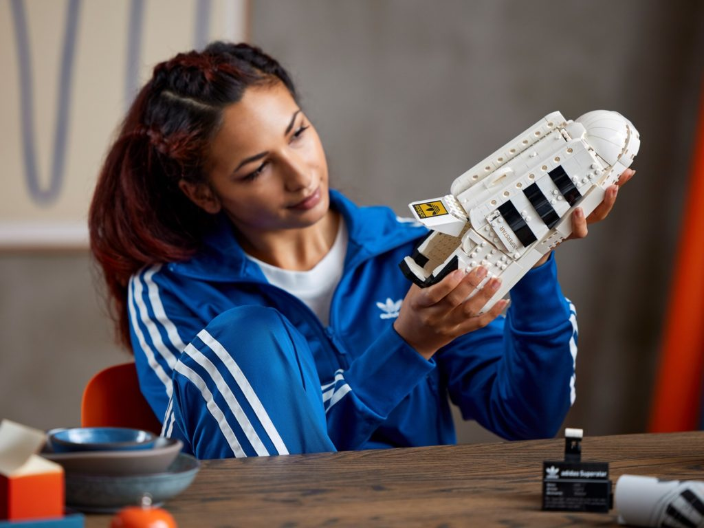 LEGO 10282 adidas Originals Superstar | ©LEGO Gruppe