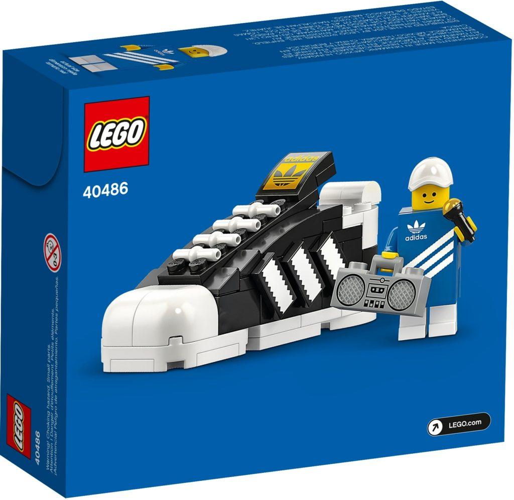 LEGO 40486 adidas Originals Superstar | ©LEGO Gruppe