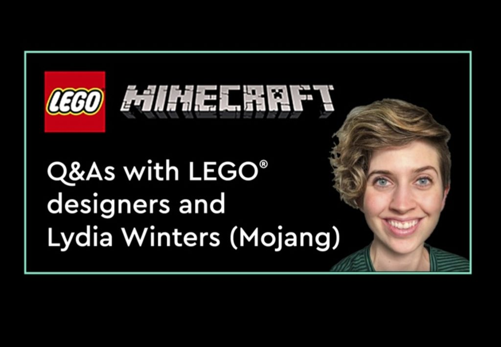 LEGO Minecraft Designer Q&A LEGO CON 2021   ©LEGO Gruppe