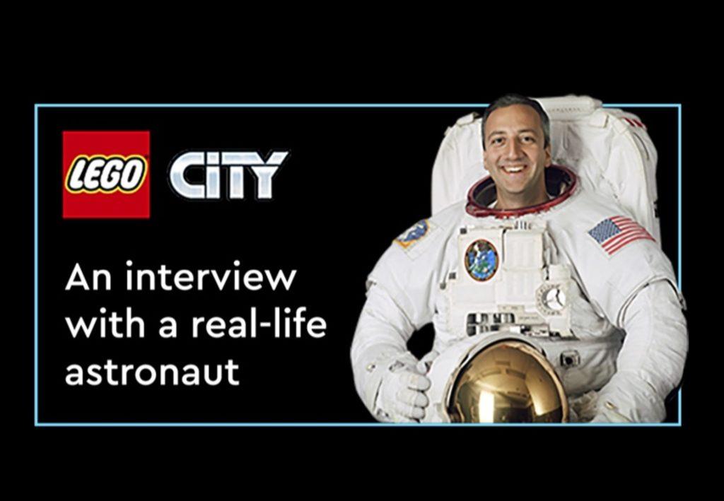 Astronaut auf der LEGO CON 2021   ©LEGO Gruppe