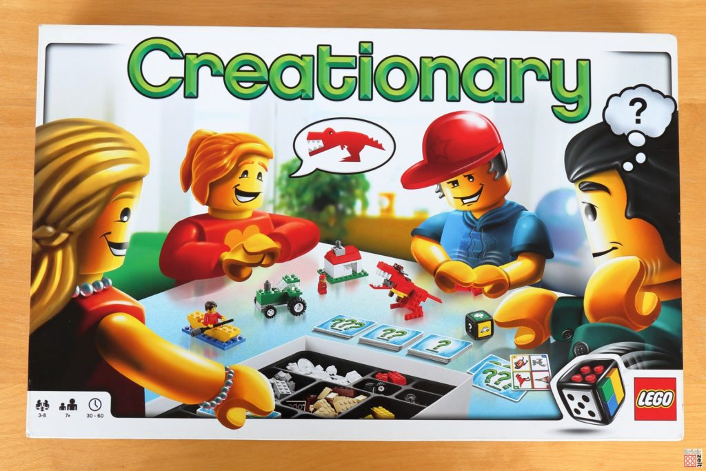 LEGO 3844 Creationary - Karton | ©Brickzeit
