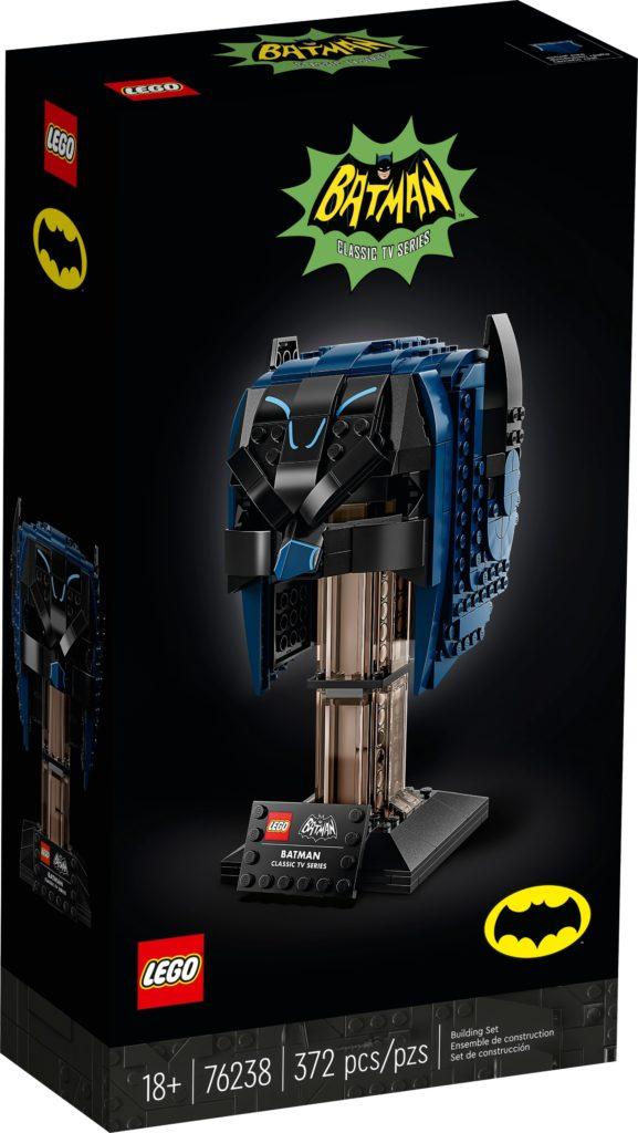 LEGO 76238 Batman Maske aus dem TV-Klassiker | ©LEGO Gruppe