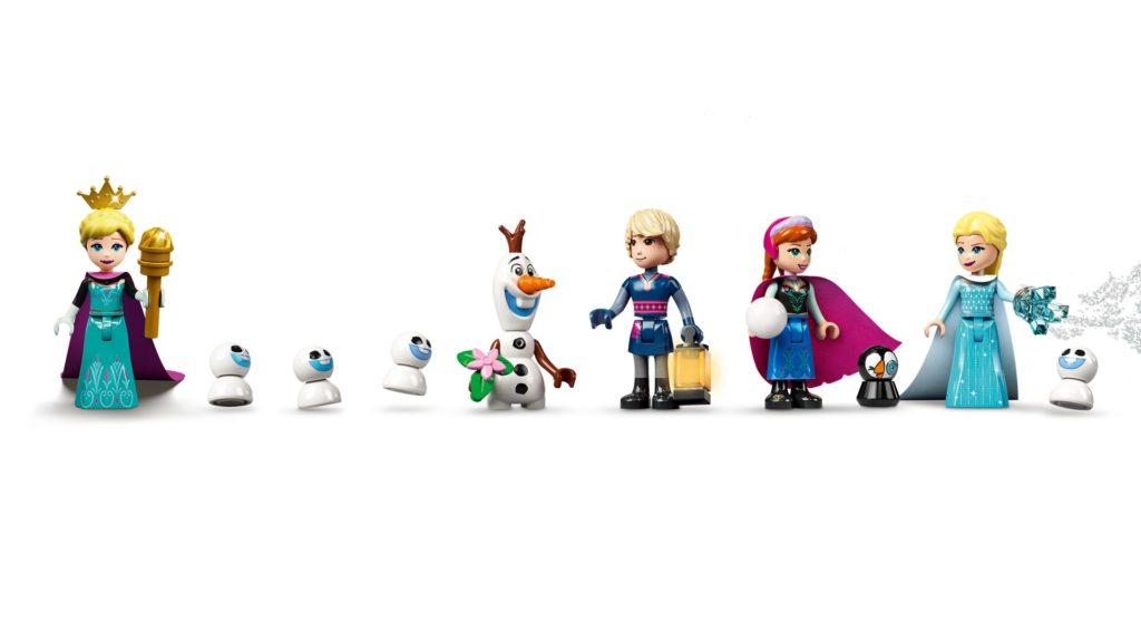 LEGO Disney 43197 Der Eispalast | ©LEGO Gruppe