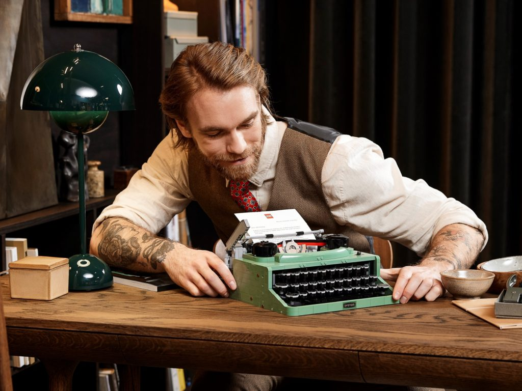LEGO Ideas 21327 Schreibmaschine | ©LEGO Gruppe