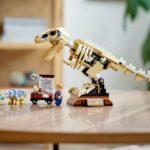 LEGO Jurassic World 76940 T. Rex-Skelett in der Fossilienausstellung | ©LEGO Gruppe