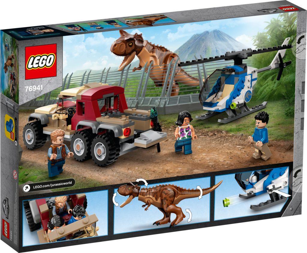 LEGO Jurassic World 76941 Verfolgung des Carnotaurus | ©LEGO Gruppe