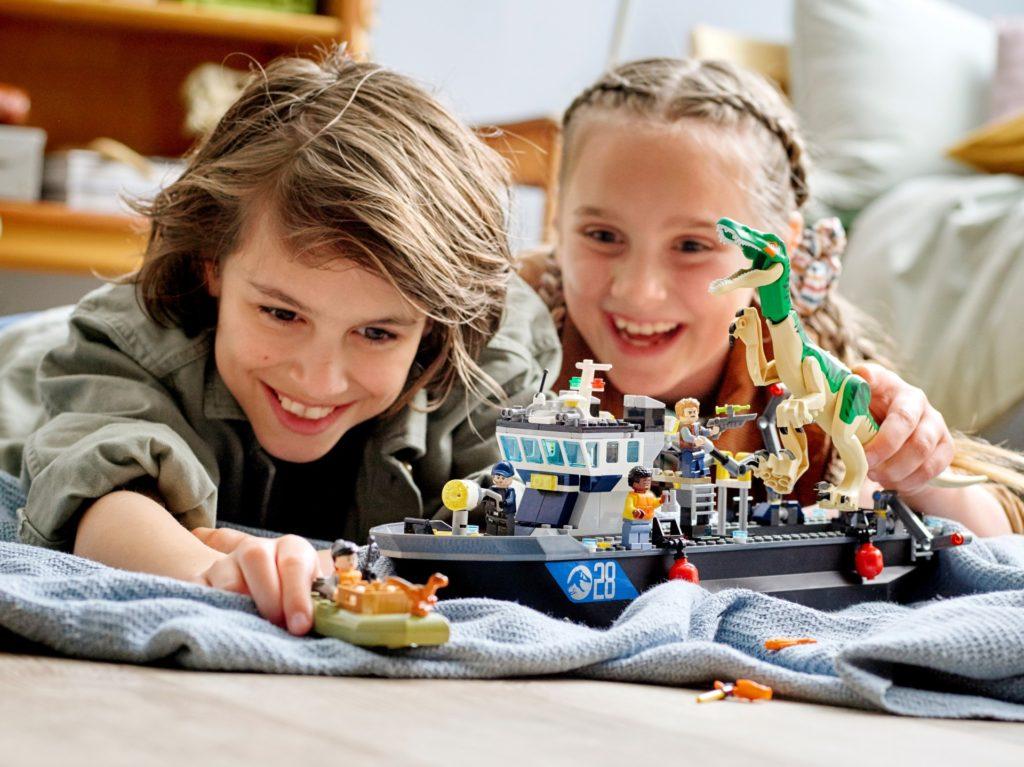 LEGO Jurassic World 76942 Flucht des Baryonyx | ©LEGO Gruppe