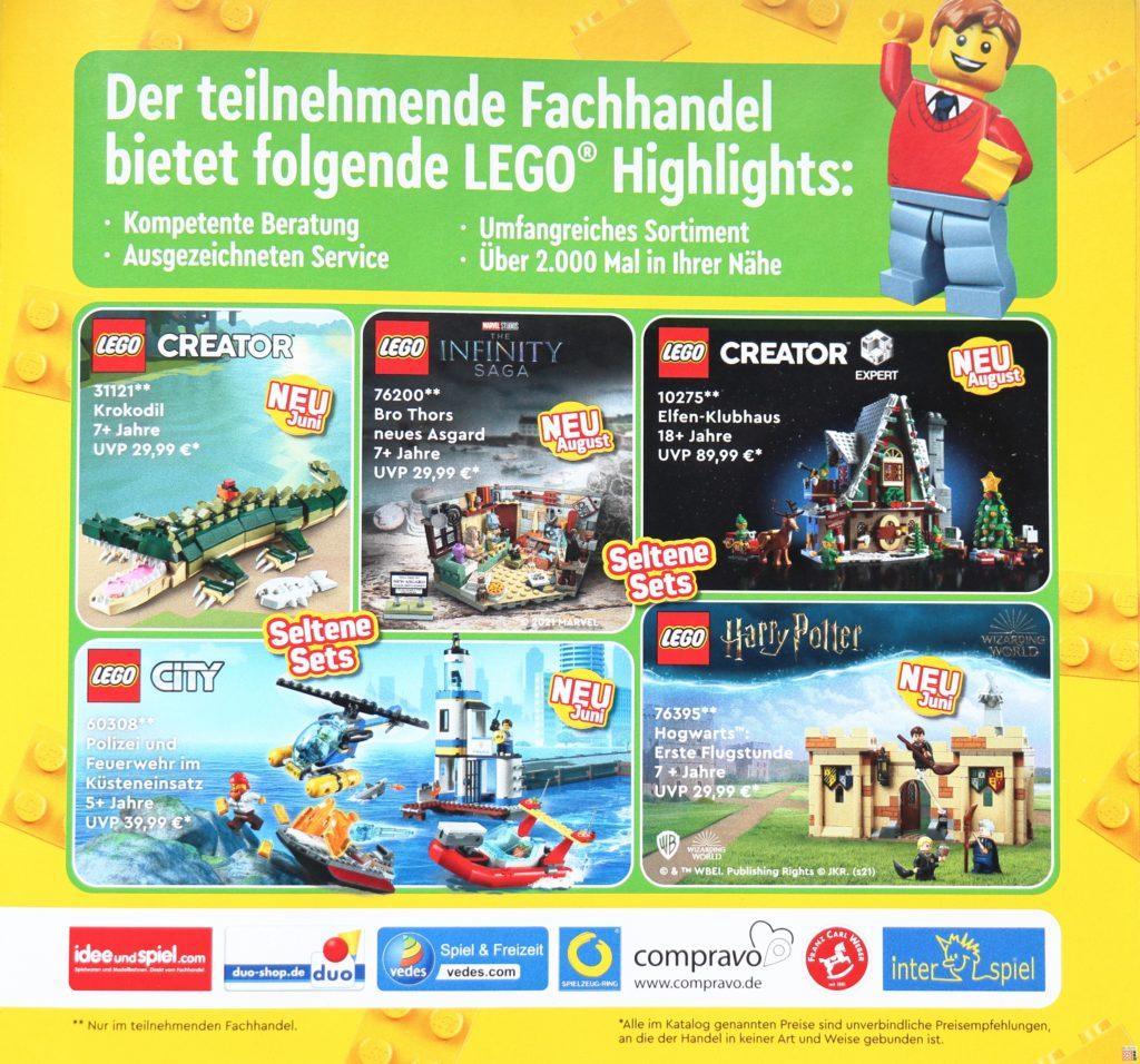 LEGO Katalog - Sets bei ausgewählten Händlern