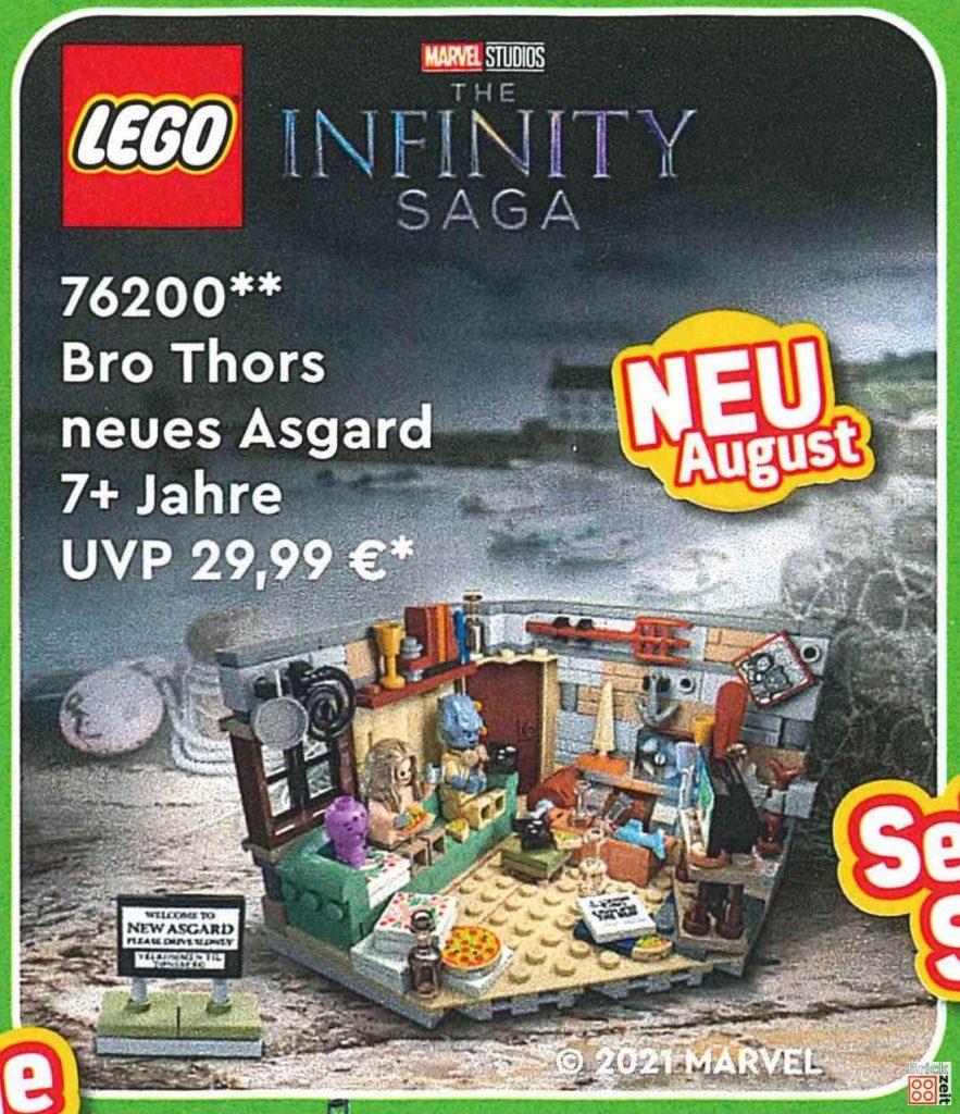 LEGO Marvel 76200 Bro Thors neues Asgard   ©LEGO Gruppe
